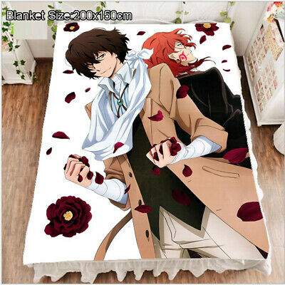 Neu BungoStrayDogs Anime Bettlaken Sheet Bettwäsche Quilt Cover 150x200CM
