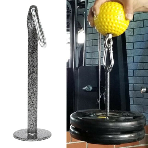 2x Weight Plate Loading Pin 23cm Holder Stand 500kg for Grip Strength Training
