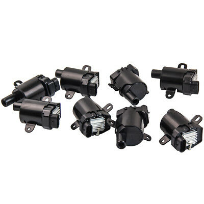 8PCS Ignition Coil For GM 1999-2007 LS Truck Cadillac GMC Chevy 4.8L 5.3L 6.0L