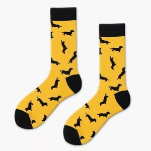 top-rated newest website for discount new & pre-owned designer Details about dachshund Socks. Sausage Dog Socks. unisex Novelty Socks