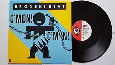 "BRONSKI BEAT - C'mon! C'mon! UK PRESS 12"" SYNTH POP Electronic 1986"