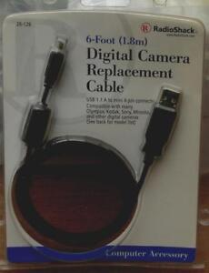 Radio-Shack-Digital-Camera-Replacement-Cable-26-128-BRAND-NEW-IN-PACKAGE