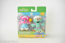 Sesame Street Playskool Abby Cadabby & Rosita Skating Friends Collectible Figure