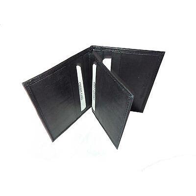 ALW Genuine Leather ATM Debit Credit Card holder - Black