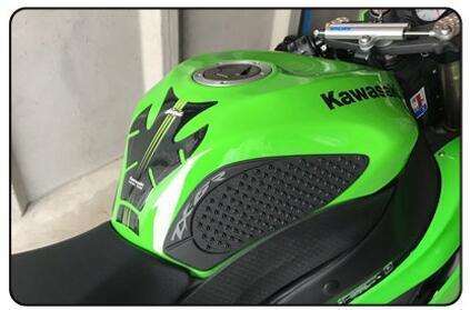 Tank Pad Sticker Knee Grip Traction Protector fo Kawasaki  ZX6R ZX636 09-15