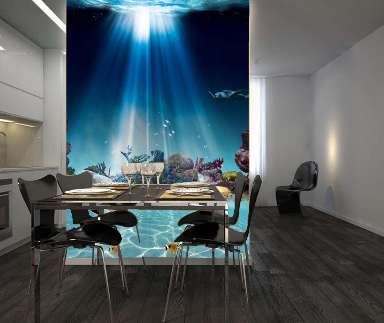 3D Lune Piscine 363 Photo Papier Peint en Autocollant Murale Plafond Chambre Art