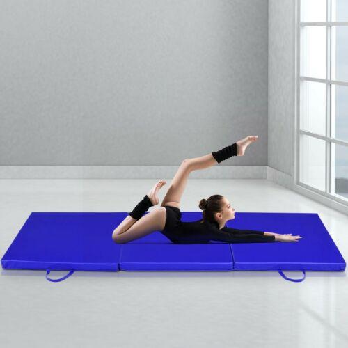 Tapis De Gymnastique Pliable Matelas De Fitness Portable Natte De Gym Pour Yoga,