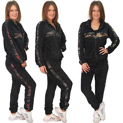 2tlg Thermo Army Nicki Sportanzug Trainingsanzug Camouflage Jogging Anzug Tarn