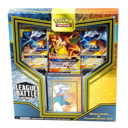 Sealed Reshiram /& Charizard GX Pokemon TCG League Battle Deck