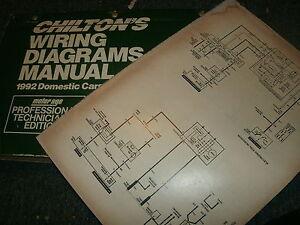 1992 OLDSMOBILE CUSTOM CRUISER WIRING DIAGRAMS SCHEMATICS ... on