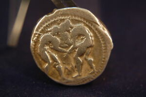 Stater-Aspendos-370-333-Antikes-Griechenland-2-Ringer-Schleuderer-Triskeles