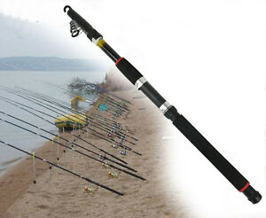 Carbon-Telescopic-FISHING-Rod-3m-10ft-Rod-Holiday-Travel-Pole-Spinning