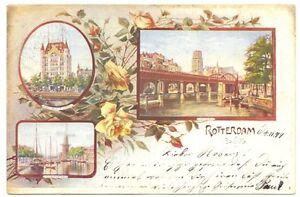 NEDERLAND-1899-AK-ROTTERDAM-LITHO-VW-PR-EX