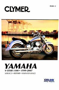 yamaha v star 1100 1999 2007 clymer shop repair manual ebay rh ebay com yamaha v star 1100 owners manual 2004 yamaha v star 1100 classic owners manual