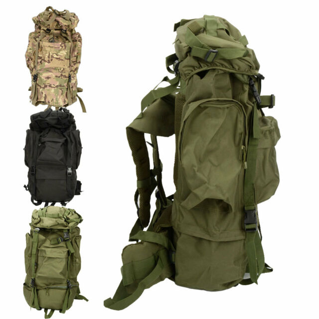80L Outdoor Travel Hiking Camping Luggage Backpack Rucksack Bag Day Packs Hot
