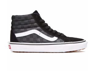 Vans-Men-039-s-Sk8-Hi-Reissue-UC-Made-For-The-Makers-Shoes-Black-Checkerboard