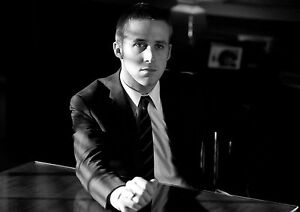 Ryan-Gosling-Large-Poster-Art-Print-Black-amp-White-Canvas-or-Card