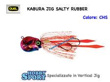 KABURA DUEL SALTY RUBBER 20 GR VERTICAL JIG col CHS