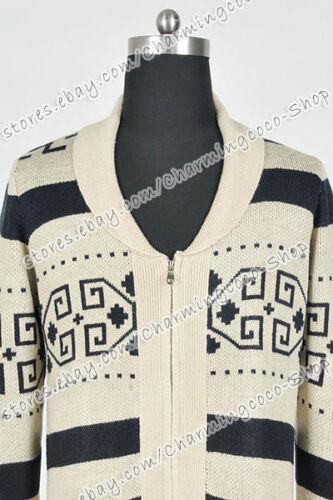 The Big Lebowski Jeff Bridges Dude Cowichan Jacket Cosplay Costume Everyday Wear