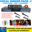 VOCAL-SINGER-MP4000-KARAOKE-MACHINE-84-PARTY-SONG-PACK-2-MICS-BLUETOOTH thumbnail 1