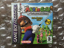 NEW FACTORY SEALED MARIO GOLF ADVANCE TOUR FOR NINTENDO GAMEBOY ADVANCE