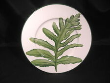 "Vietri Villa Palma Fern Charger Plate Display 12 3/8"" diameter"