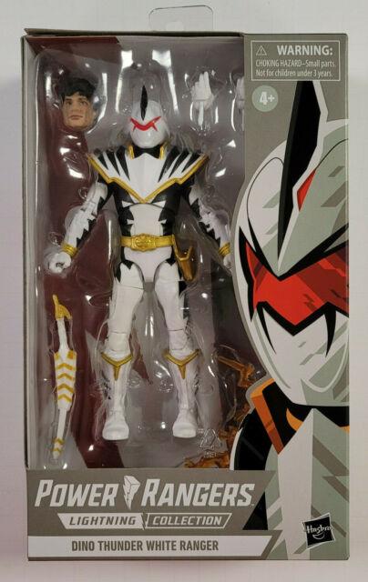 Power Rangers Lightning Collection DINO THUNDER WHITE RANGER Figure