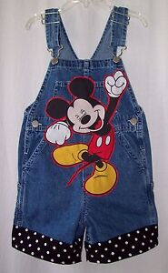 Minnie Mouse Overalls