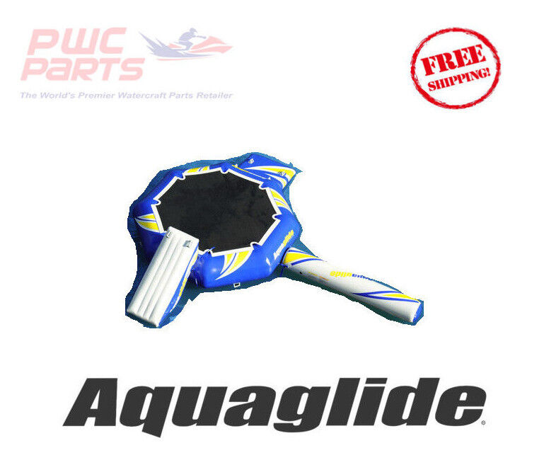 AQUAGLIDE REBOUND 12 AquaPark Bouncer w  i-Log & Slide Pool Toy Play 58-5209200