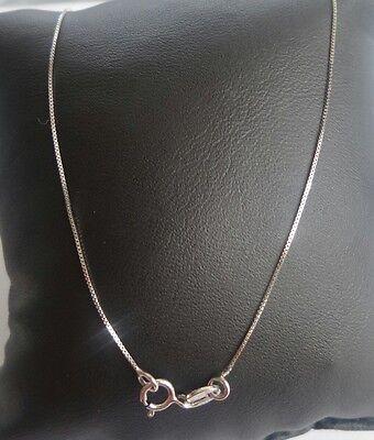 Halskette Weißgold 18kt Kettchen Venetian