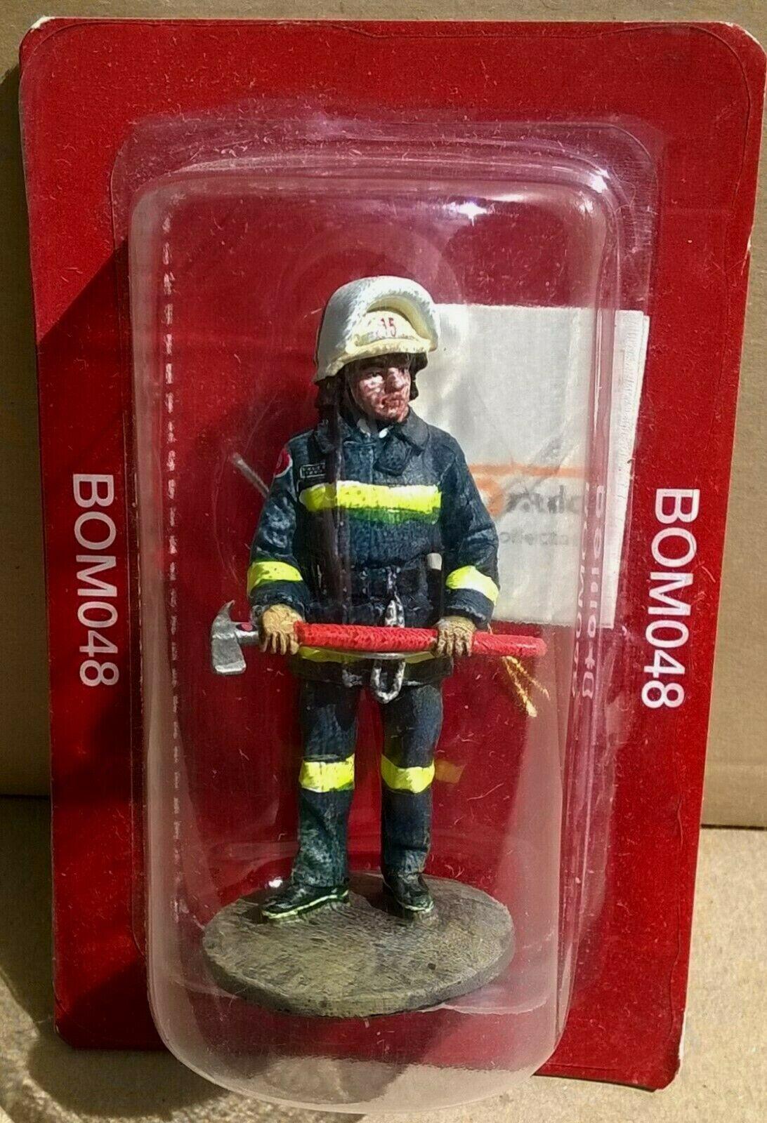 Del Prado 1//32 Figure Fireman ceremonial dress Monaco 2003 BOM119