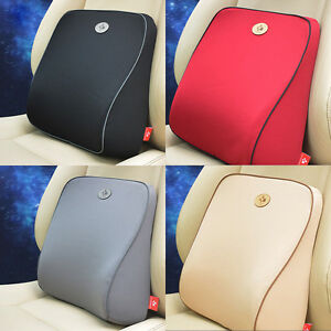 Memory Foam Lumbar Back Support Cushion Pillow Car Office Seat Chair Rh Ebay Co Uk Best Sofa With Sectional