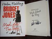 Helen Fielding Signed Bridget Jones Mad About The Boy 1st Printing Hc Book