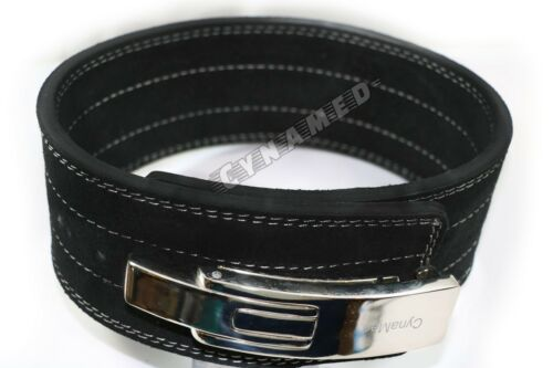 NEW PRO RIGOROUS TRAINING HARD DUTY WEIGHT LIFTING BELT S,M,L WITH LEVER BUCKLE