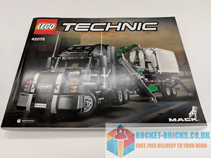 BRAND NEW⭐️ ⭐️LEGO TECHNIC 42078 MACK ANTHEM INSTRUCTION MANUAL ONLY