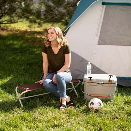 Ozark Trail Hazel Creek Pliable Extérieur Camping banc rouge Outdoor Indoor Use