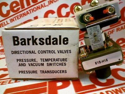 BARKSDALE E1S-H15 USED TESTED CLEANED E1SH15