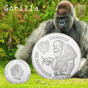 Australian-Queen-Orangutan-Creative-Collection-Commemorative-Coin-Gifts