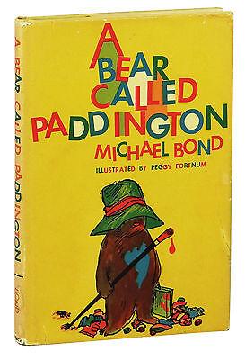A Bear Called Paddington ~by MICHAEL BOND ~ First US Edition ~ 1st Printing 1960