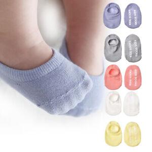 Baby socks floor short non-slip socks baby boy girl candy color