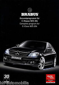 Brabus-Mercedes-C-Klasse-W-S-204-Prospekt-2008-7-08-12-S-brochure-broszura