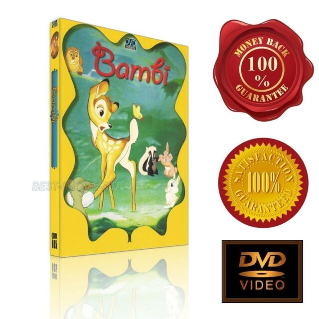 Bambi - NEW DVD -E