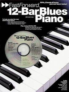 12-bar Blues Piano Fast Forward Series-riffs Lèche & Astuces Vous Pouvez 014011107-afficher Le Titre D'origine MatéRiaux De Choix