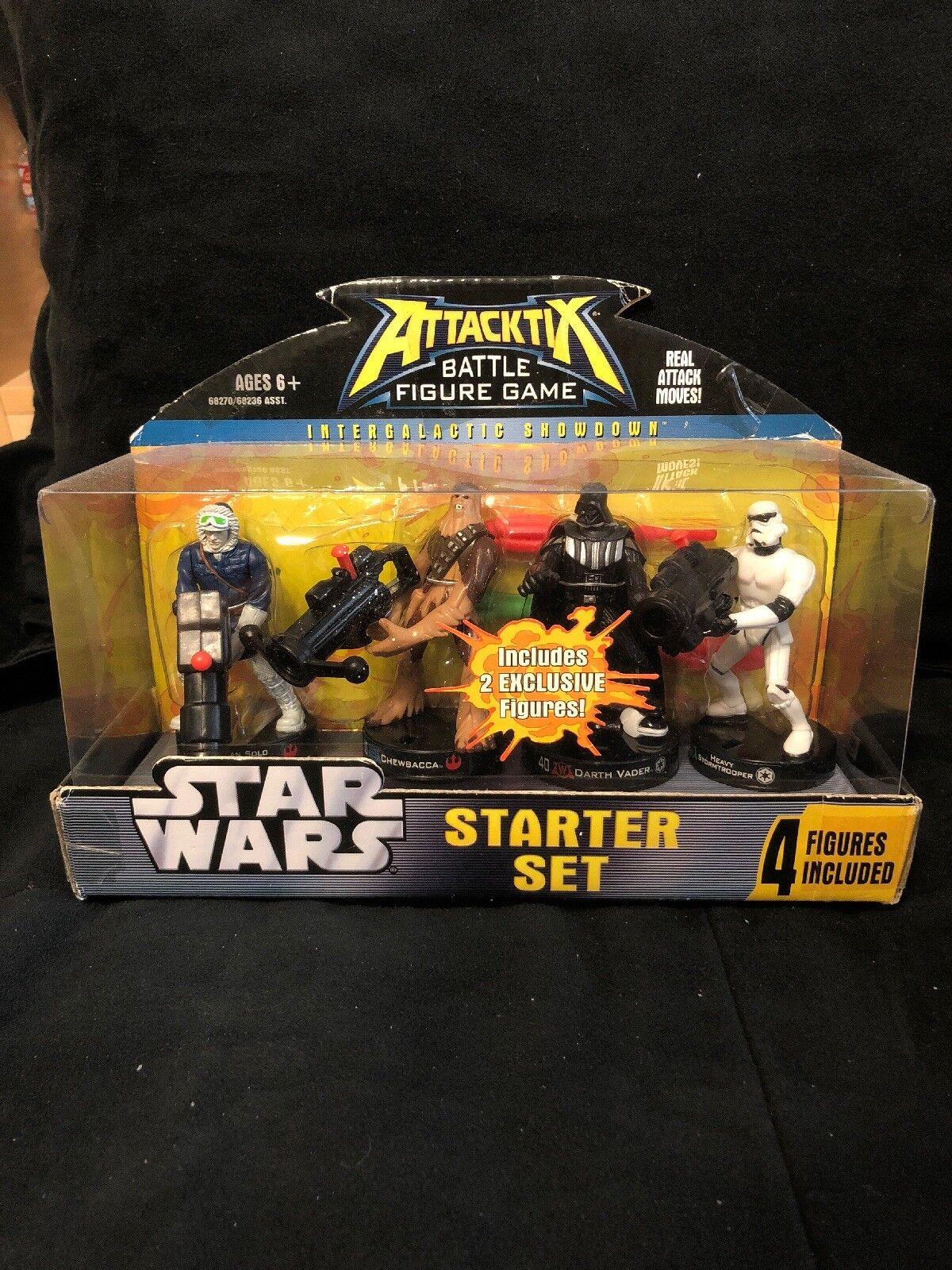 Attacktix Sternter Set serie 5 heißh Rare Short laufen