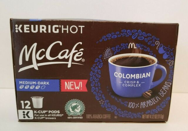 Best K Cup Coffee 2021 McCafe Colombian Coffee K Cup Pods, 4.12 oz for sale online | eBay