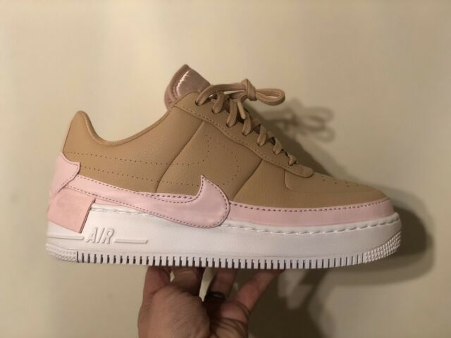Neue Nike Air Force One Low Jester 43 weiß pink