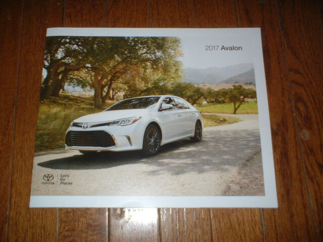 2017 Toyota Avalon Hybrid 8 Models See Below 22 Page Brochure