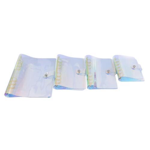 Sequins Notebook Cover Shell Loose Leaf Ring Binder File Folder Loose Card SPM