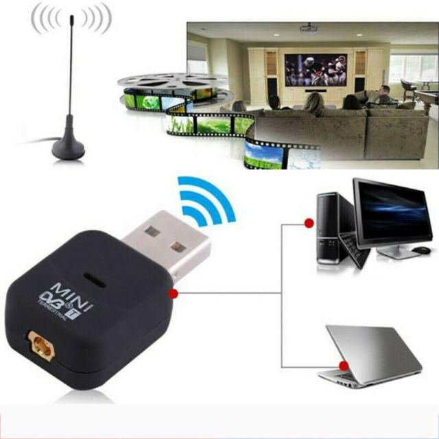 DVR DVB RTL2832U Terrestrial USB2.0 Digital Tuner TV Stick Dongle Receiver h