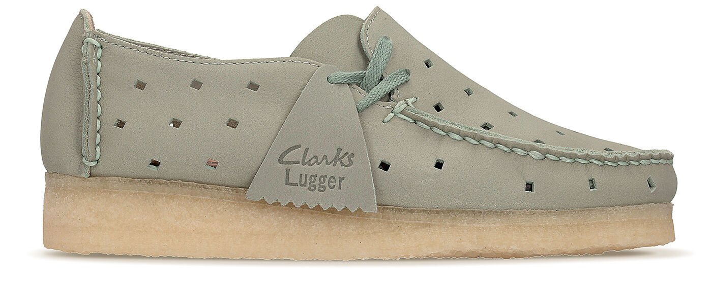 Clarks Wallabee Originals Da donna ** Wallabee Clarks Trasportatore VERDE PALLIDO ** D 16d1be